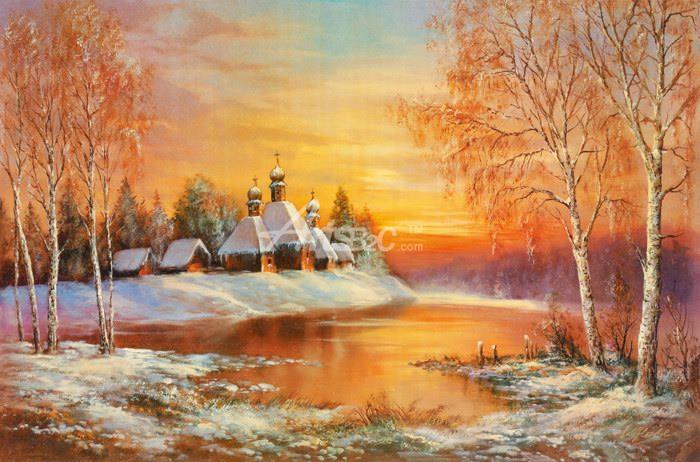油画 欧式风格油画 风景油画  标记: 北欧风景油画详情 >> 起订量: 1