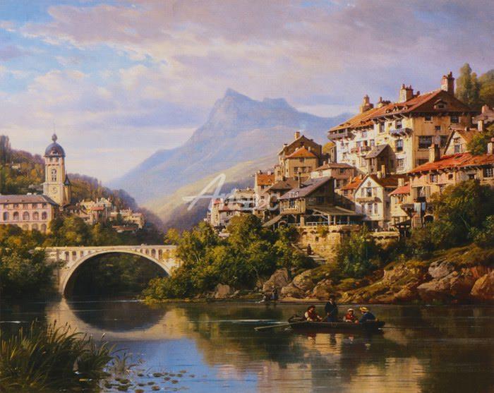 欧式油画 - 欧式风格油画
