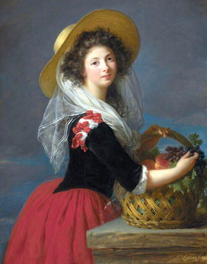 欧洲宫廷人物油画